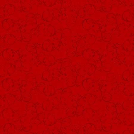 Holiday Homestead Red Swirl Vine