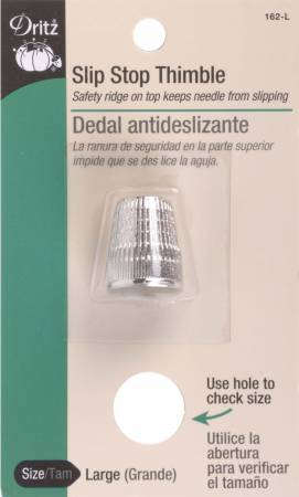 SLIP STOP THIMBLE MEDIUM BY DRITZ