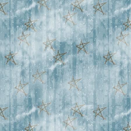 Blue Faded Stars