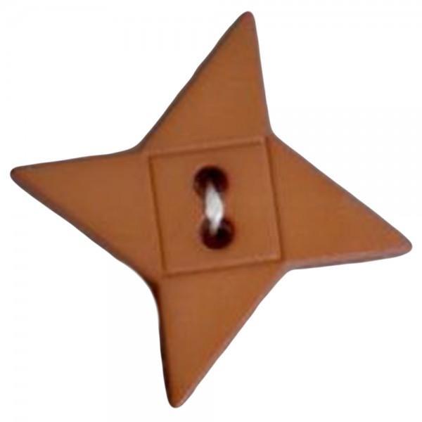 Buttons - 164512 Friendship Star Tan