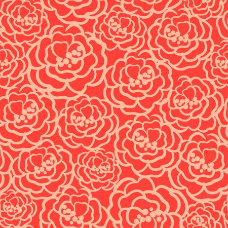 Madison Packed Floral 16511-RED
