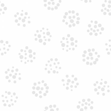 White on White Tonal Dots 16513-WOW