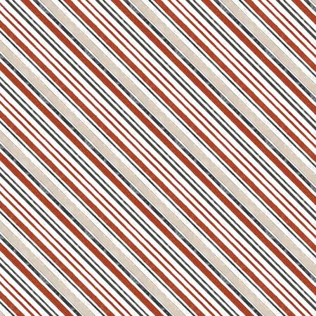 FREE RANGE FRESH-Cream Diagonal Stripe 16517-139