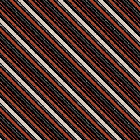FREE RANGE FRESH-Black Diagonal Stripe 16517-931