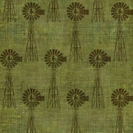 3 Wishes - On The Farm - 699919312870 - Green Windmills - Green