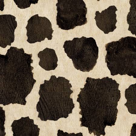 Cream Cow Hide/3 Wishes Fabric