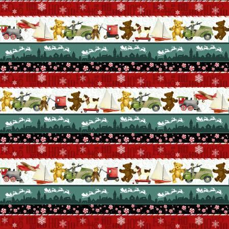 Vintage Toys Stripe Christmas