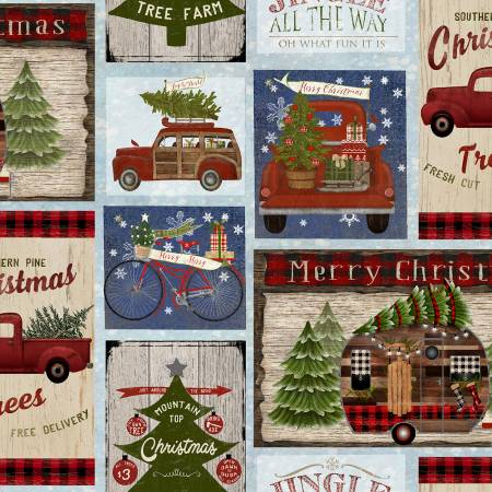 3 Wishes - Jingle All The Way 16623-MLT Christmas On The Road