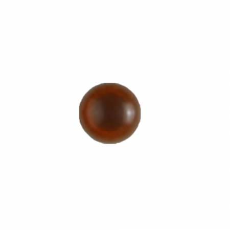 Brown Novelty Eye Button - 8mm