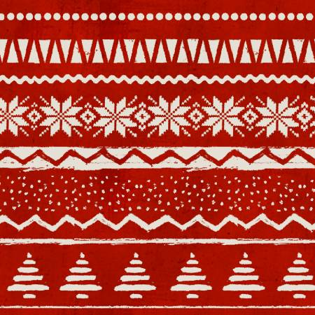 Red Sweater Print
