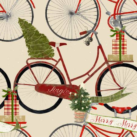 Jingle all the Way - Bicycles - Cream
