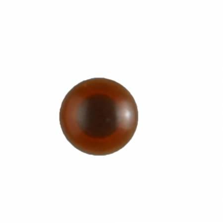 10mm Brown Eye Buttons 2/card