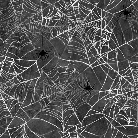 Charcoal Spider Webs