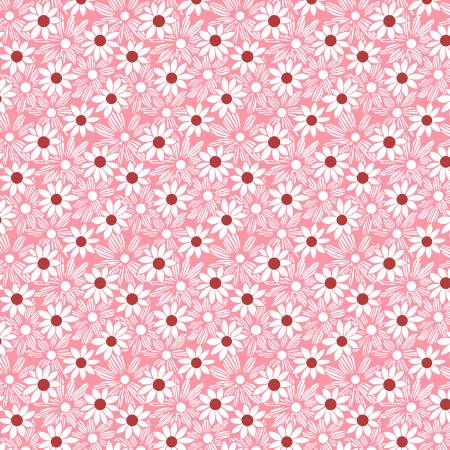 Pink - Packed Daisy 1930's Reproduction