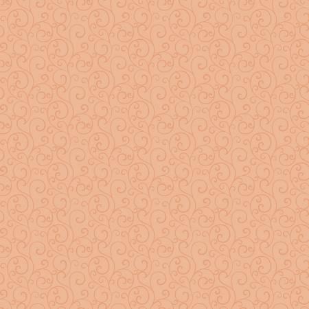 Autumn Elegance Pale Persimmon Scroll 1672-28