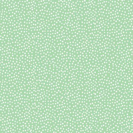 Green Dots Comfy Flannel Double Brushed