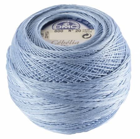 DMC Cebelia 30  800 Sky Blue