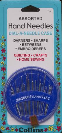 Collins Assorted Needles in Dispenser 30ct