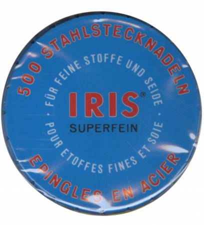 GS Iris Superfine Pin Size 20 1-1/4in 500ct
