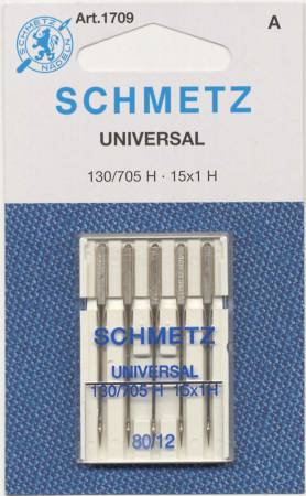 Schmetz Universal Machine Needle Size 5 Pack  12/80