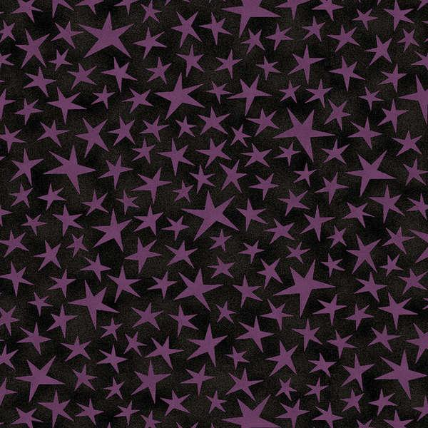 Black/Purple Stars