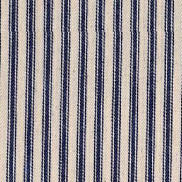 Blue Stripe Ticking