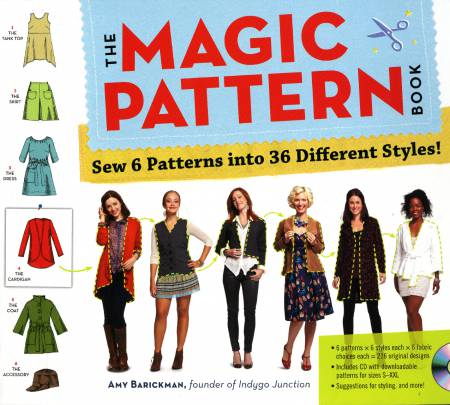 Magic Pattern Book - Softcover