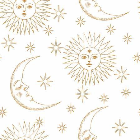 White Sun & Moons w/Metallic