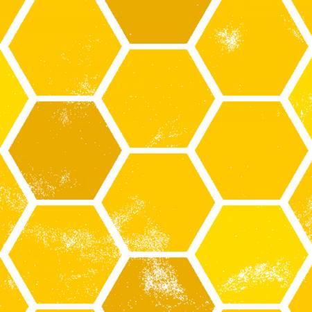 Feed The Bees Gold Honeycomb