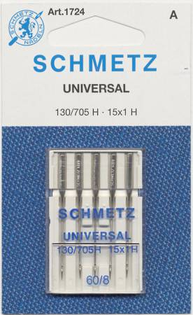 Schmetz Universal Machine Needle Size 8/60