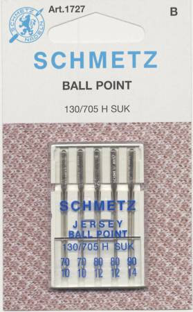 SMN-1727 Schmetz Ball Point Machine Needle Assorted Sizes