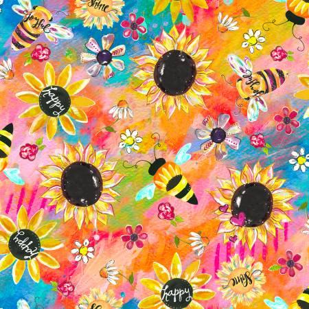 Joy Blooms Sunflowers Digital - 17297