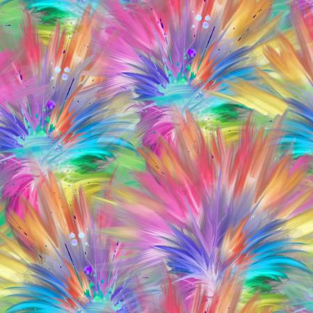 Party Animals - Multi Plumes Digital