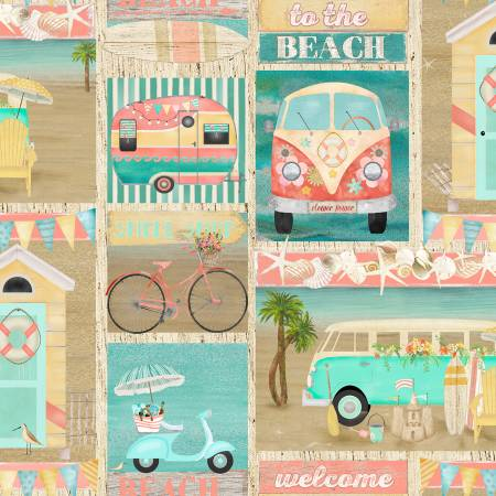 Multi Patch Beach Travel