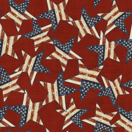 Red Stars Patriotic