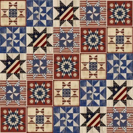 Patriotic Summer - Multi Quilts