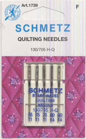 Schmetz Quilting Machine Needle Sizes 11/75 & 14/90
