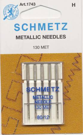 Schmetz Metallic Machine Needle Size 12/80