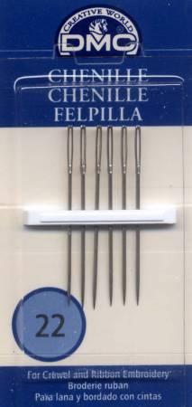 Chenille Sharps Needles - Size 22 - DMC