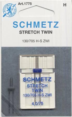 Schmetz Twin Stretch Machine Needle Size 4.0/75 1ct