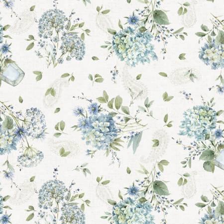 Bohemian Blue Cream Bouquets