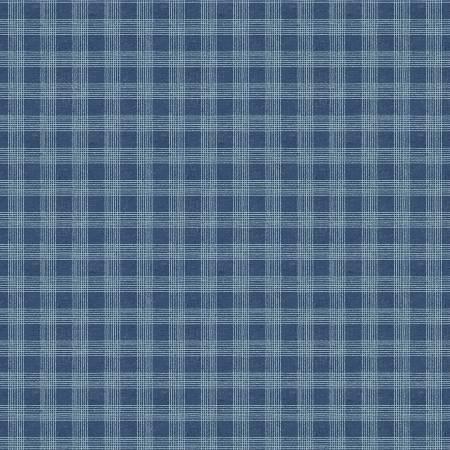 Bohemian Blue by Lisa Audit for Wilmington Prints-17760-444- Blue Plaid