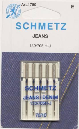 Schmetz Denim/Jeans Machine Needle Size 10/70
