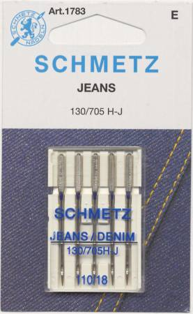 Schmetz Denim/Jeans Machine Needle Size 18/110