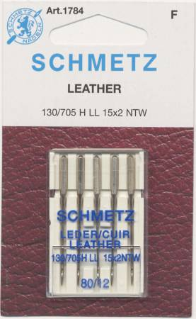 Schmetz 1784 Leather Machine Needle 80/12