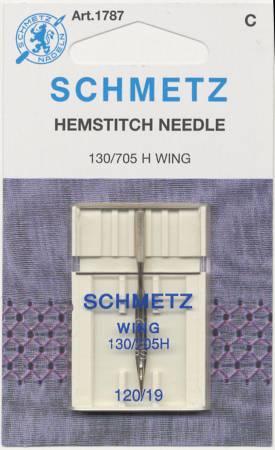 SCHMETZ 1787 Hemstitch Needle Wing Needle 120