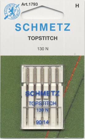 Schmetz Topstitch Machine Needle Size 14/90 5pk