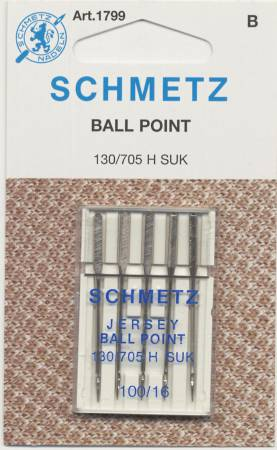 Schmetz Ball Point Machine Needle Size 16/100