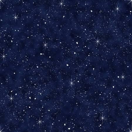 Navy Night Sky