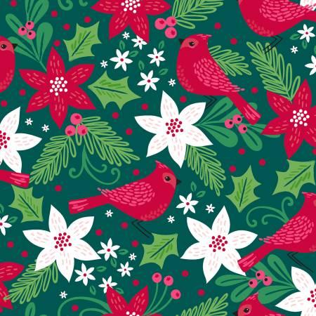 Green Cardinal - Holiday Wonder - 18081-GRN